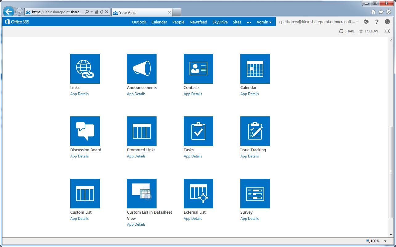 SharePoint 2013 Screenshots – Updated   LifeInSHAREPOINT