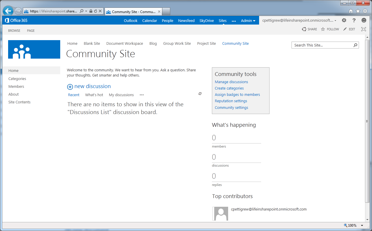 site sharepoint