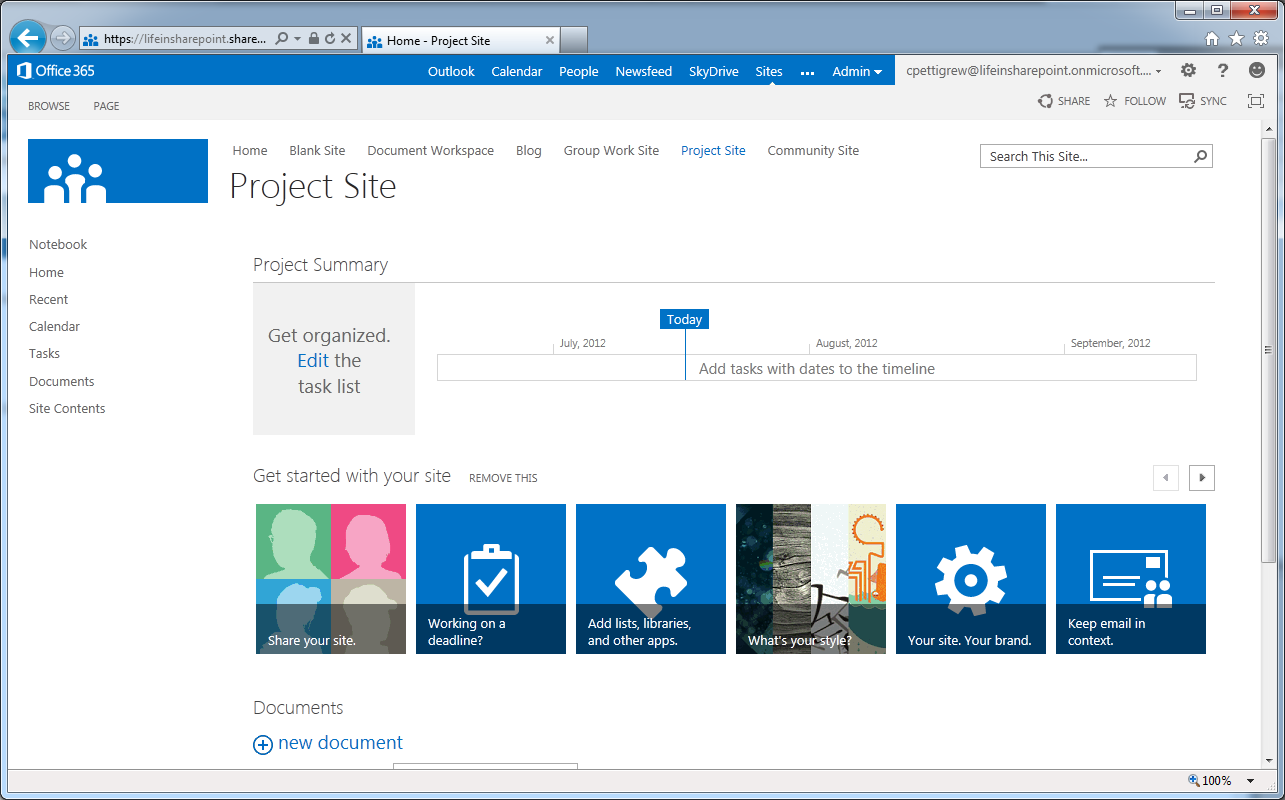 Sharepoint 2013 screenshots updated lifeinsharepoint New website create free online